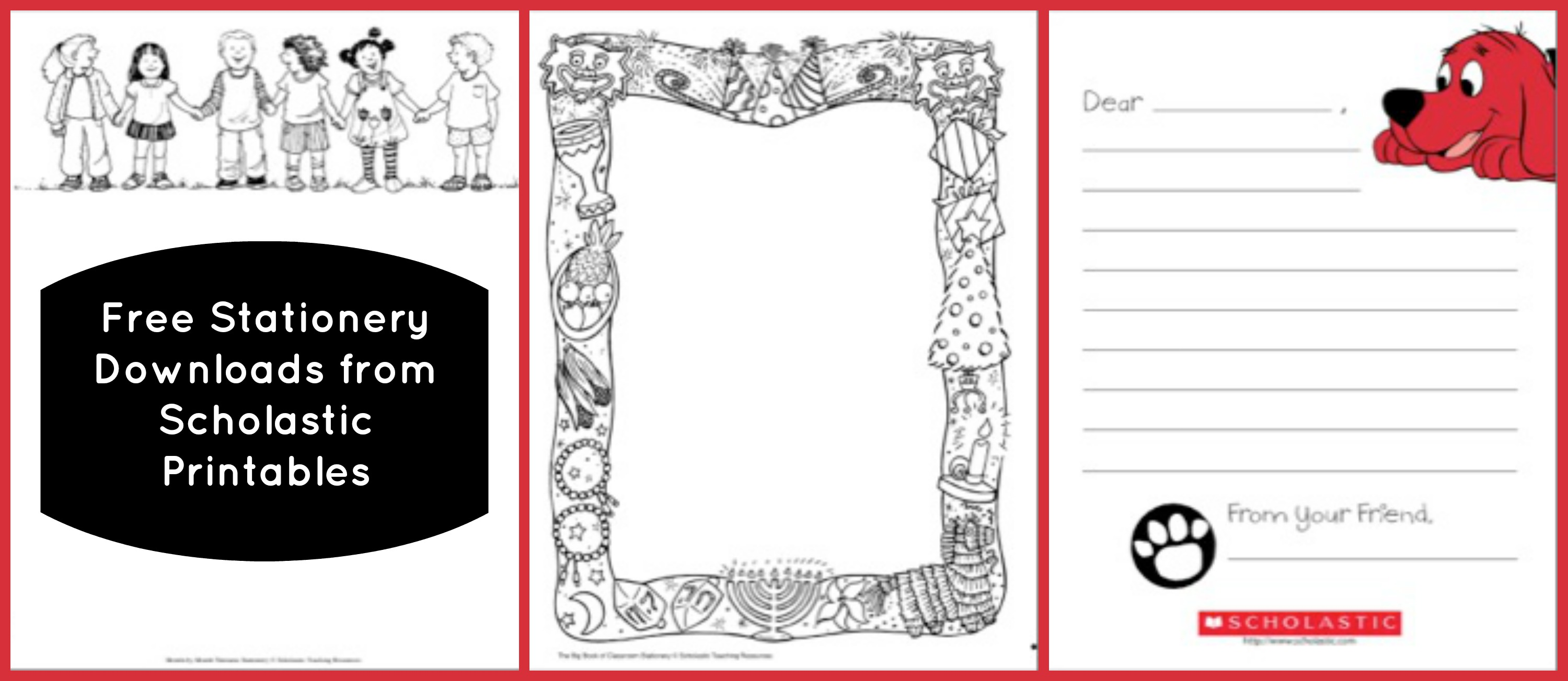 Scholastic Printables - Resources at Your Fingertips