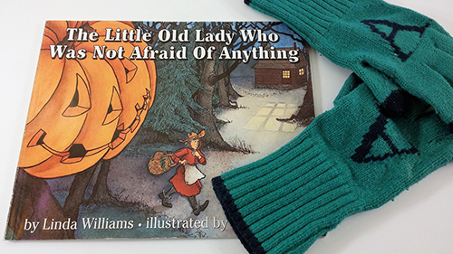 Act out the motions as you read The Little Old Lady Who Was Not Afraid Of Anything.