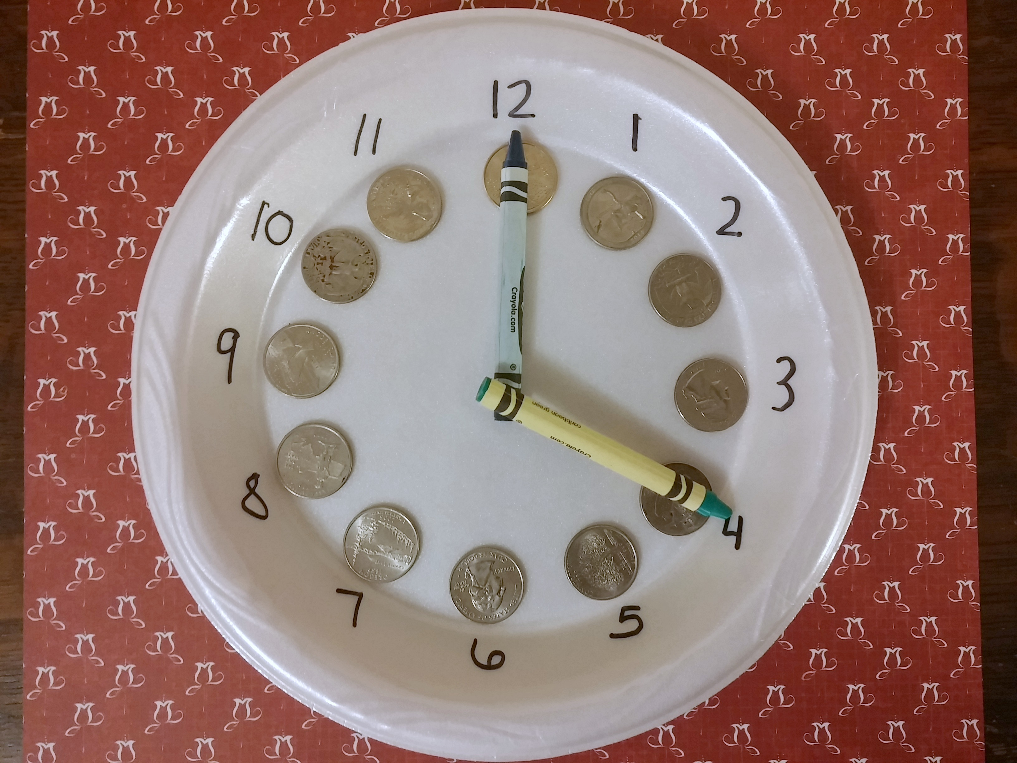 Telling Time with Coins