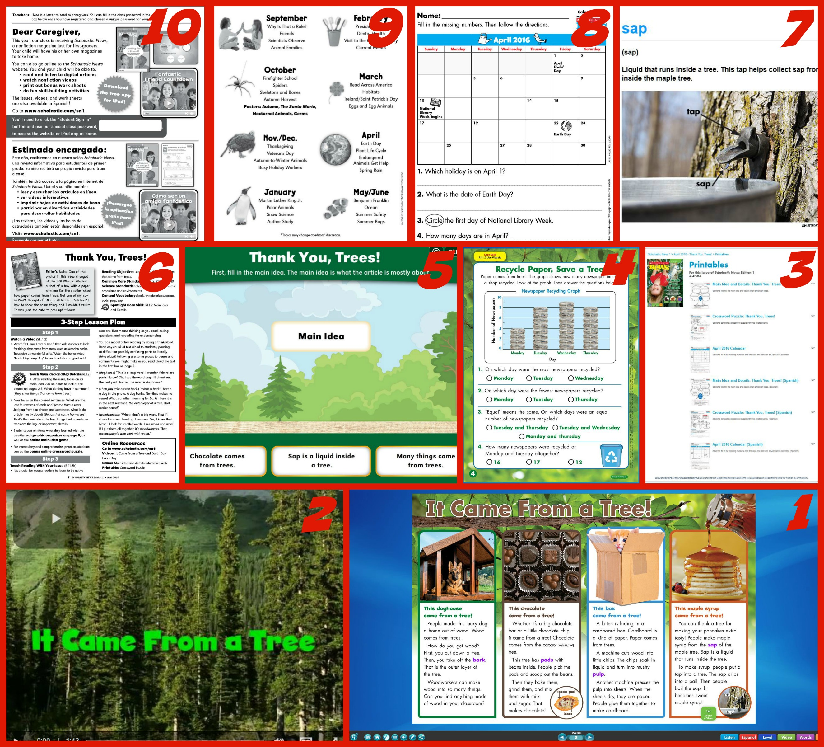 Worksheets Scholastic Teaching Resources Worksheets making the most of scholastic news magazines top ten resources