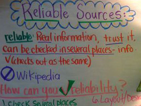 reliable sources research paper When writing a research paper writers should always use a credible source citing non-credible sources can damage a writer's relationship with his or her readers.