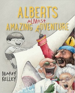 Albert's Almost Amazing Adventure Cover