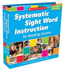 Systematic Sight Word Instruction for Reading Success
