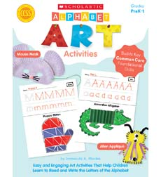 Alphabet Art Activities Cover