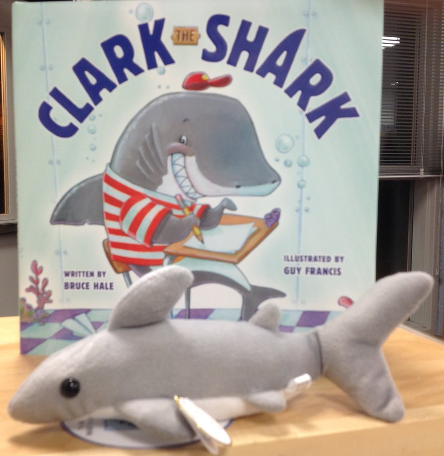 Clark the Shark Book and Plush