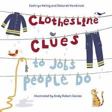 Clothesline Clues book cover
