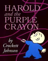 Harold and the Purple Crayon Book Cover