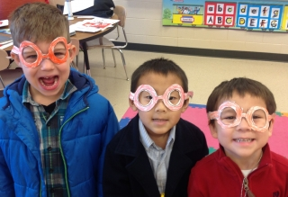 Brody, Tevyn, and Dash in Louise Glasses