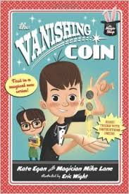 The Magic Shop: The Vanishing Coin Cover