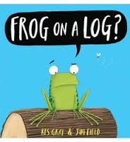Frog on a Log? Cover