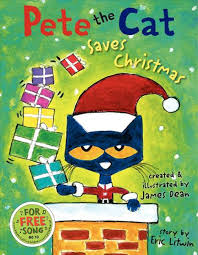 Pete the Cat Saves Christmas Cover