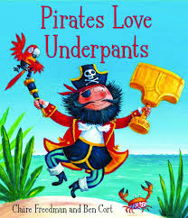 Pirates Love Underpants Cover