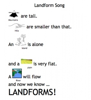 Landform Song Lyrics