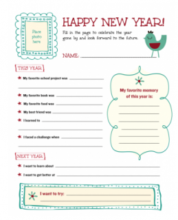 Happy New Year Sheet Image