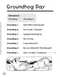 Groundhog day free worksheets 2nd grade