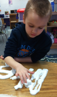 Harper with shaving cream sight words/high frequency words