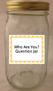 Who Are You Question Jar