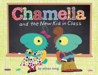Chamelia and the New Kid in Class Cover