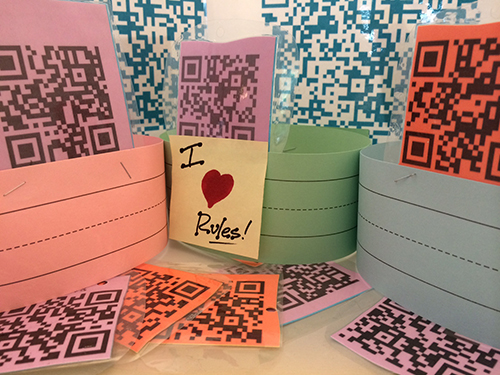 Free, Printable QR-Coded Classroom Rules