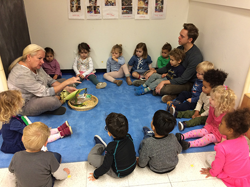 Conversations Also Flow Naturally From Story Reading Last Week Cathy Read Happy Birthday Moon By Frank Asch To Her 3 4s Class