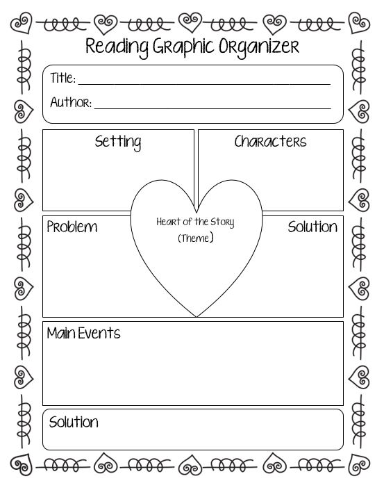 5 Fun Learning Activities For Valentine's Day Scholastic. Story Element Graphic Organizer For Any Book. Kindergarten. Kindergarten Valentine Reading Worksheets At Clickcart.co