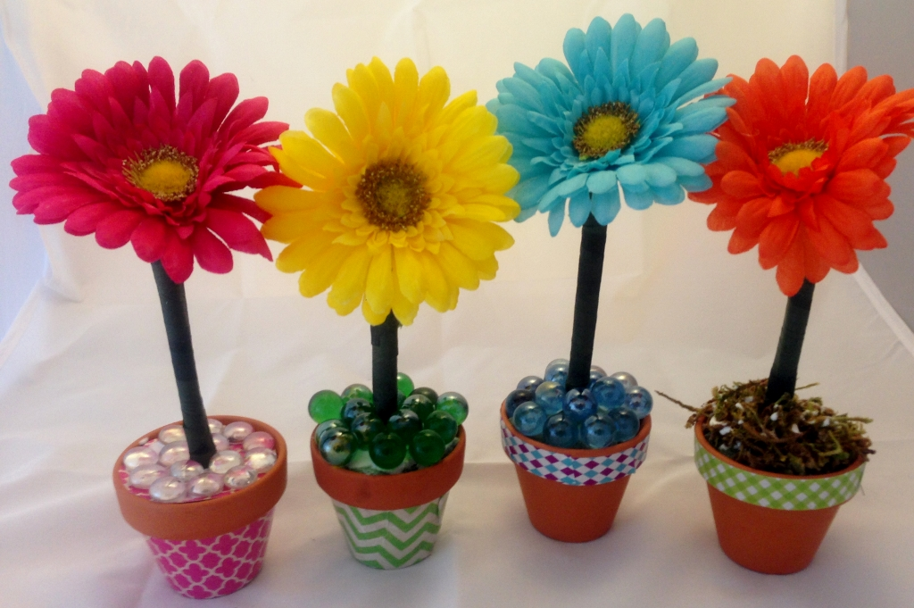 Easy flower pens make great gifts
