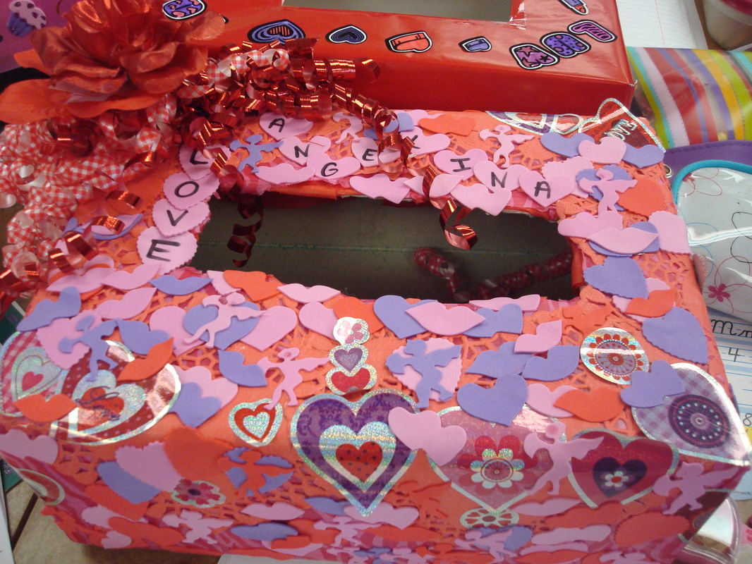 The Valentine Box Measures Up Scholastic