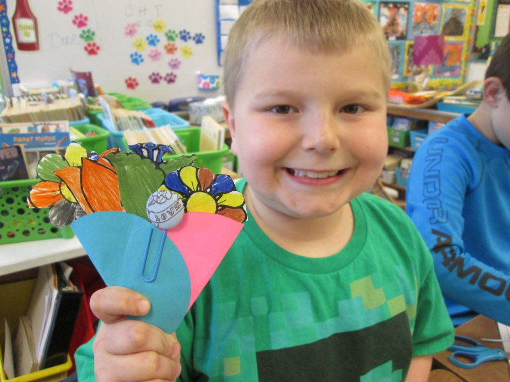 Easy to make bookmarks for Mother's Day