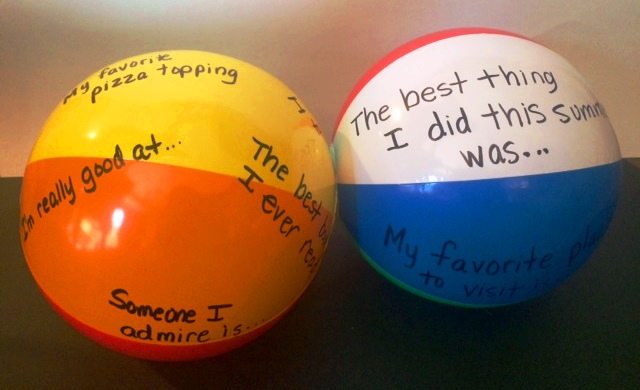 Beach Ball Icebreaker
