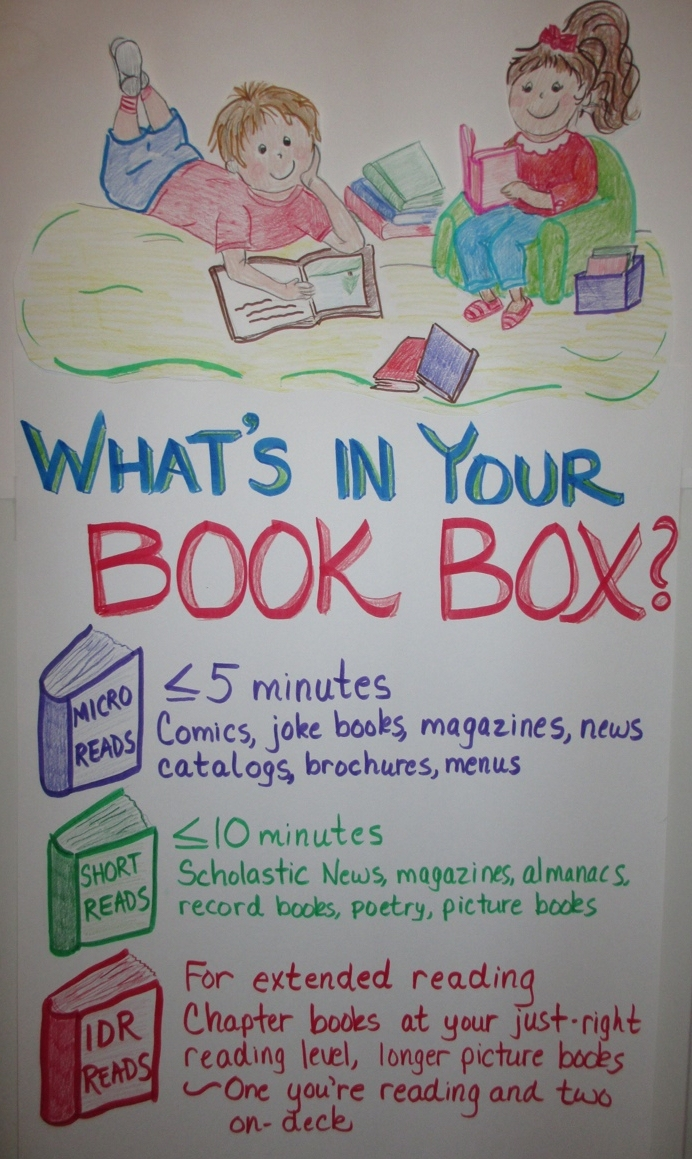 What's in your book box?