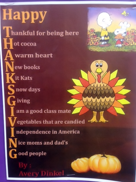 how to write a thanks giving letter