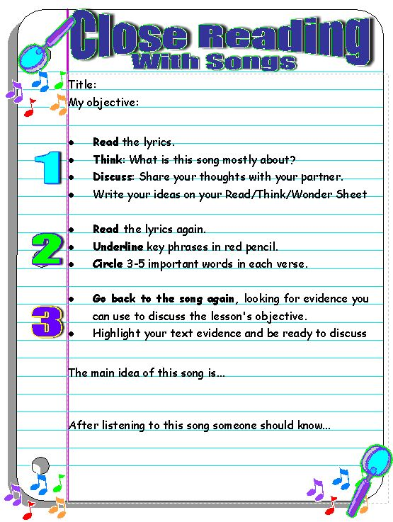 Use Popular Music To Improve Reading And Inspire Writing  Scholastic