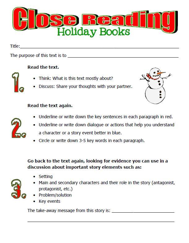 Classic Holiday Books and Activities for Home and School ...