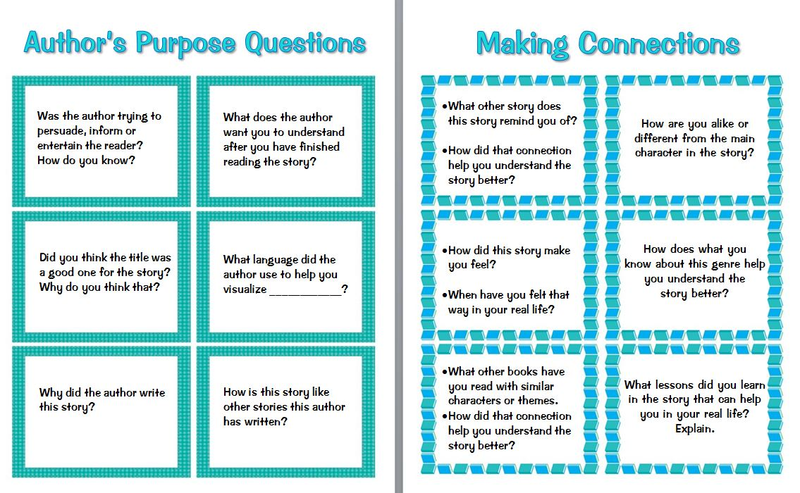 - Guided Reading Prompts And Questions To Improve Comprehension