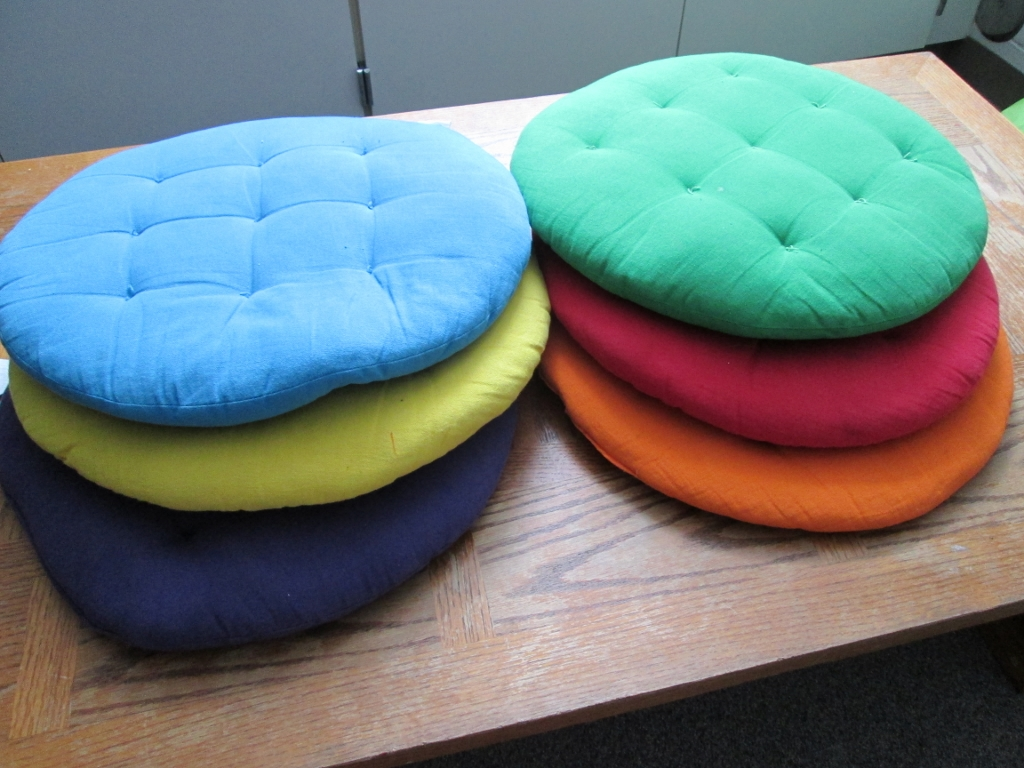 Cushiony seats: Help for your fidgety students