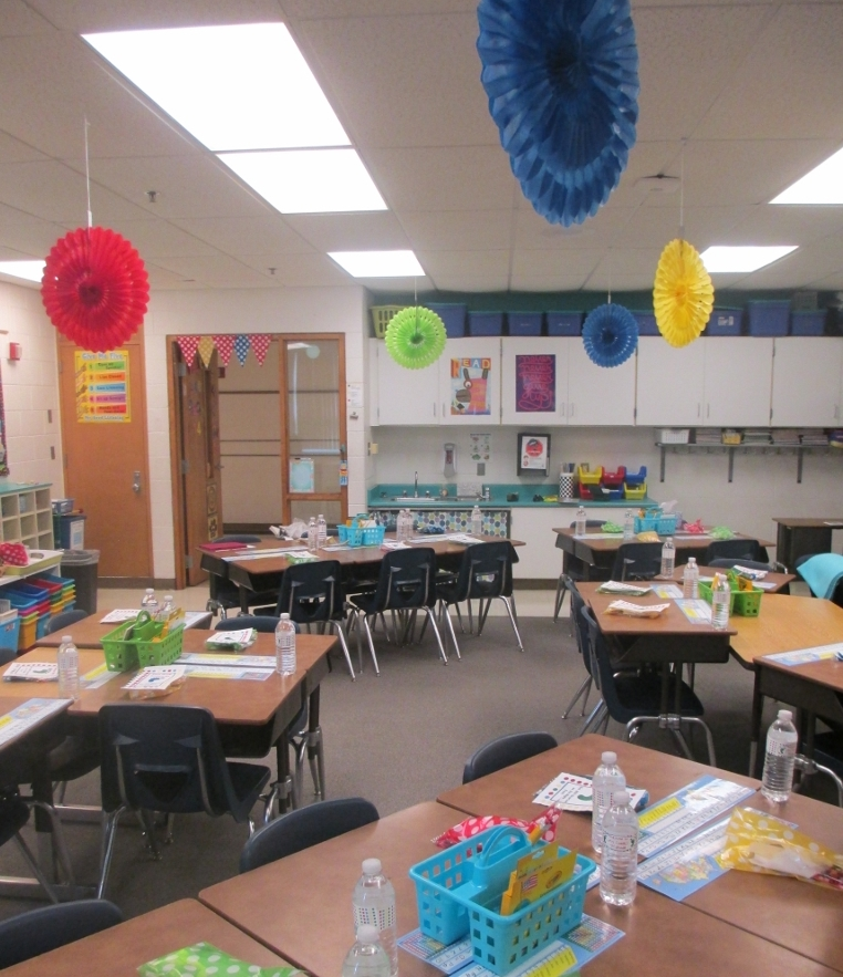 Classroom Setup Ideas ~ Classroom setup three hours and done scholastic