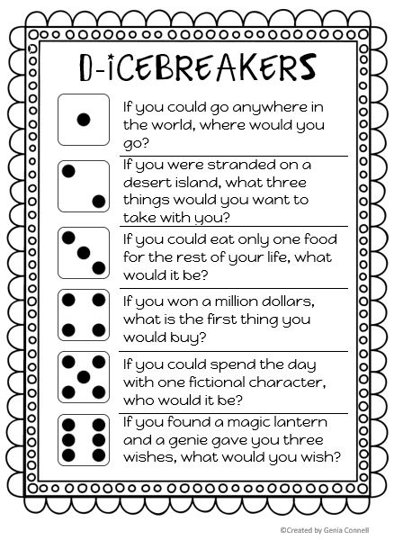 10 Fun Back-to-School Activities and Icebreakers | Scholastic