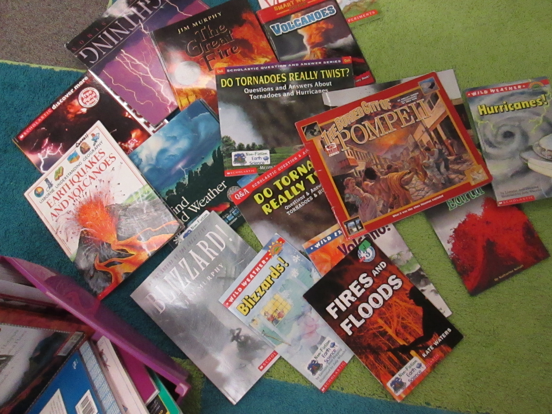Collection of disaster books