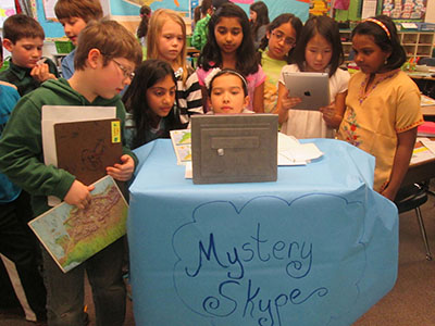 Geography Skills Soar With Mystery Skype   Scholastic