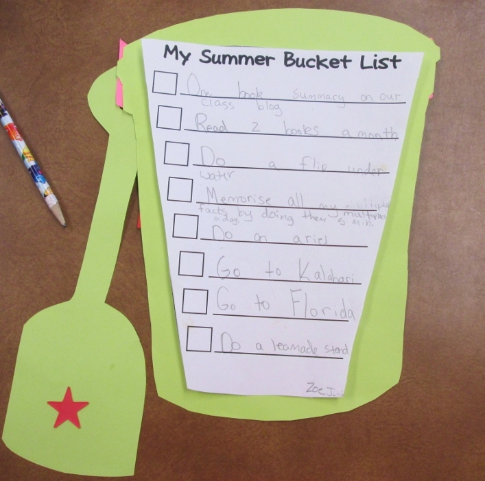 Our Summer Bucket Lists | Scholastic
