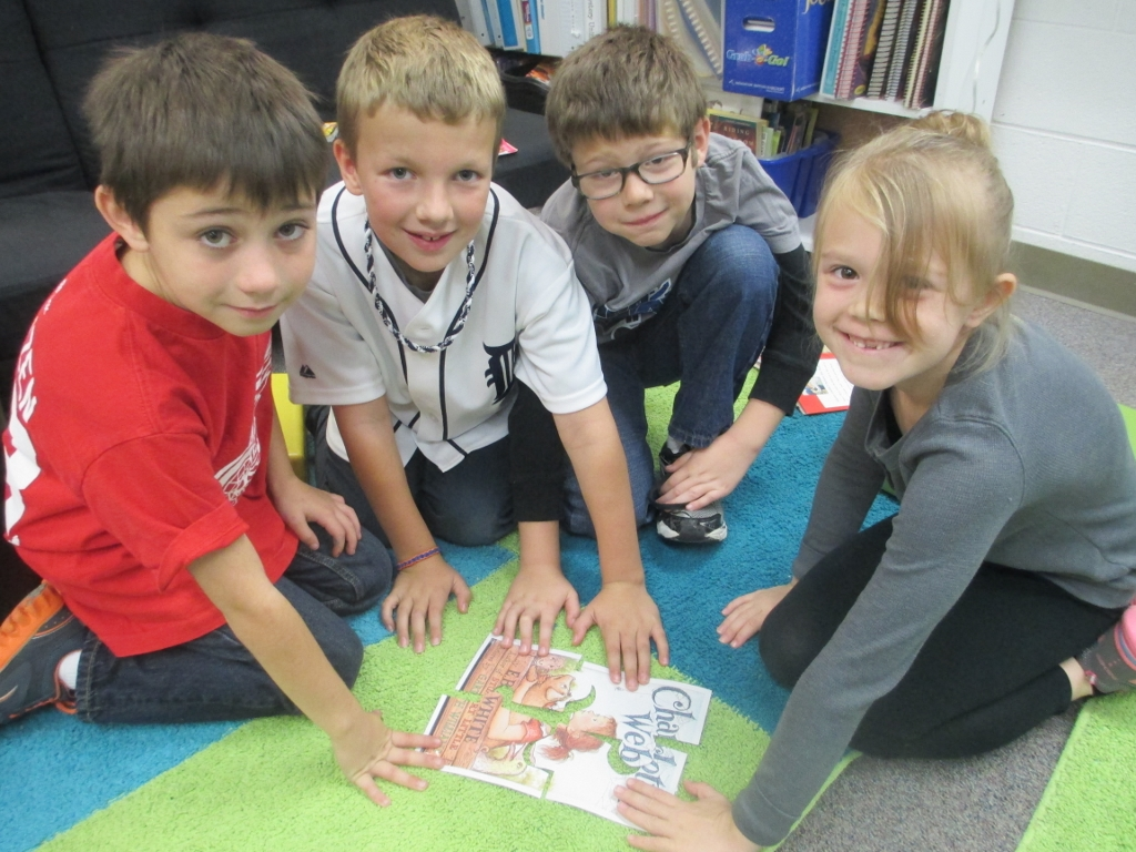 Book puzzles for grouping