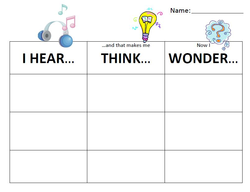 Use Popular Music to Improve Reading and Inspire Writing – Close Reading Worksheet