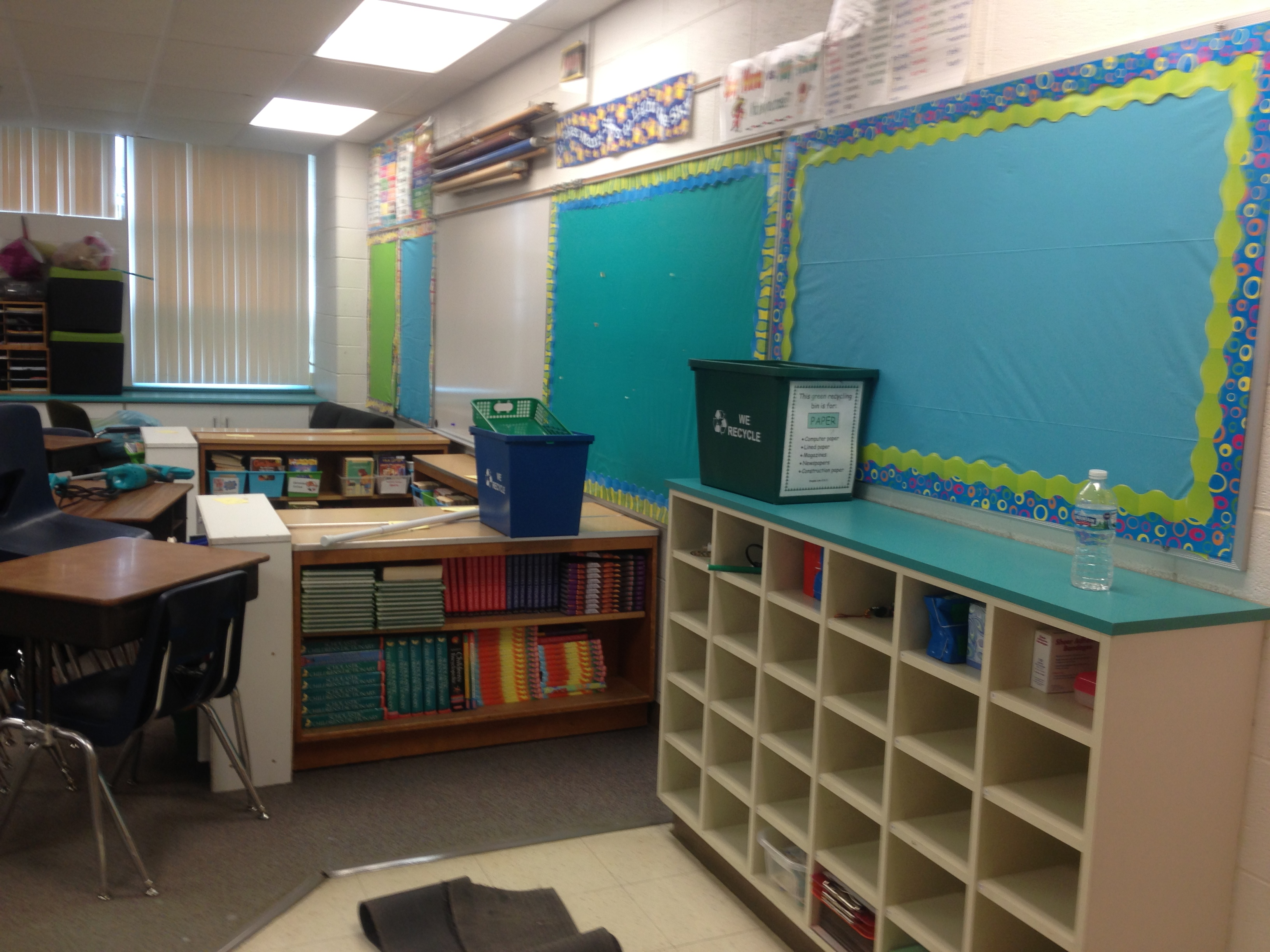 Plastic Tablecloths Also Cover My Bulletin Boards Which Then Serve As The  Backdrop For My Bulletin Boards In The Fall.
