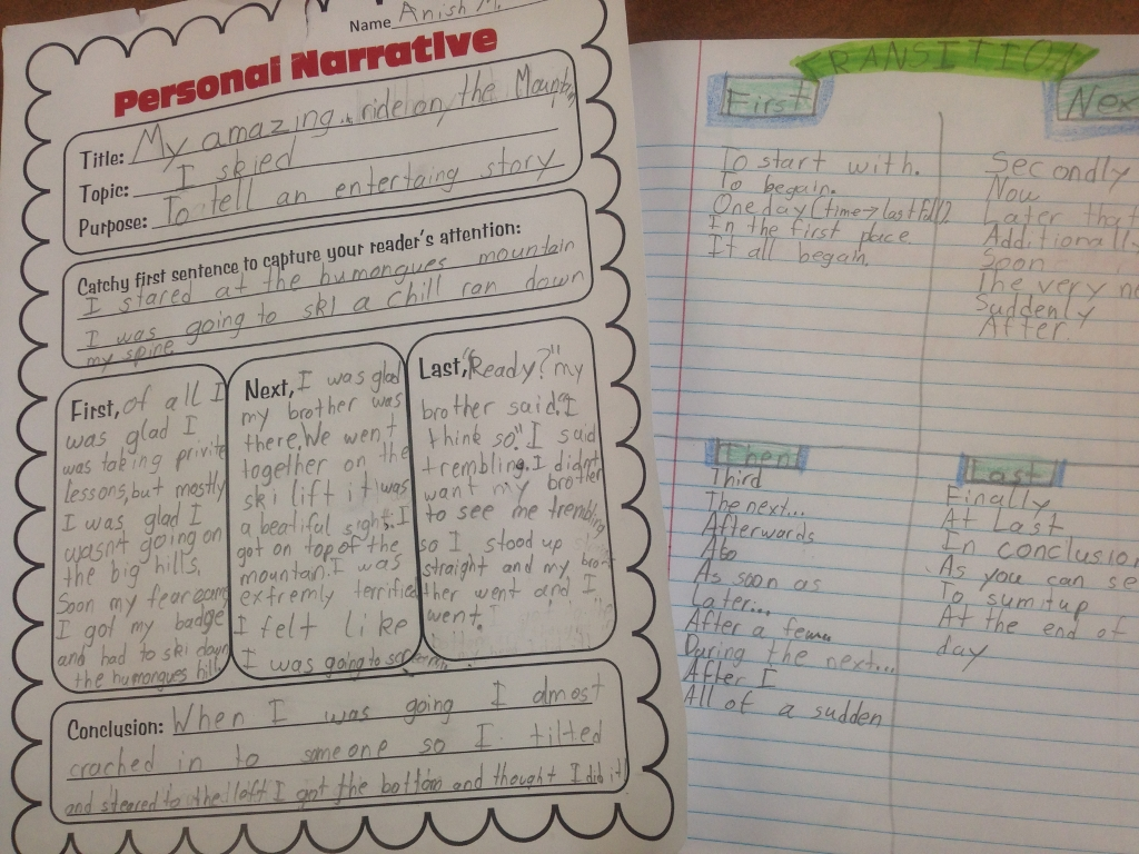 graphic organizers for personal narratives scholastic prewriting using graphic organizers