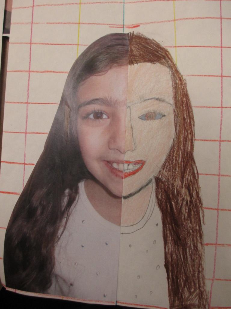 Math Meets Art: Symmetry Self-Portraits | Scholastic
