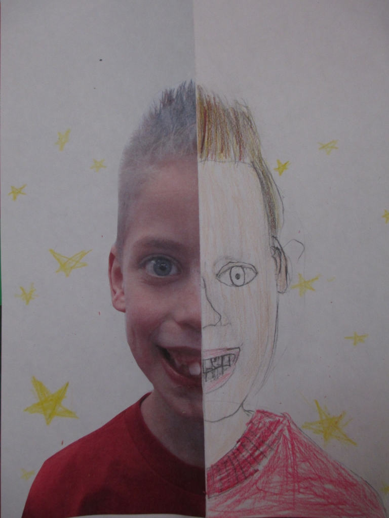 Creative Self Portrait Ideas For Kids