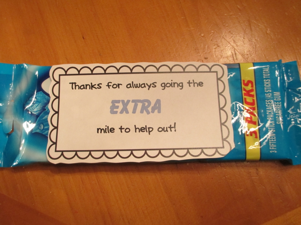 Quick and Easy Thank-You Gifts for Classroom Volunteers ...