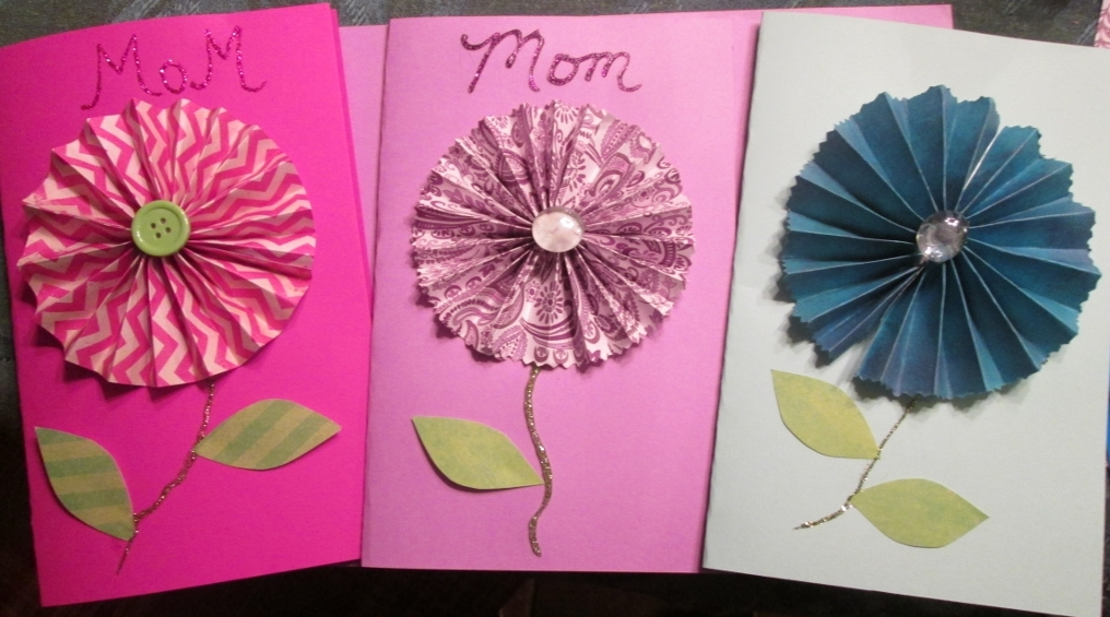 3-D cards for Mother's Day