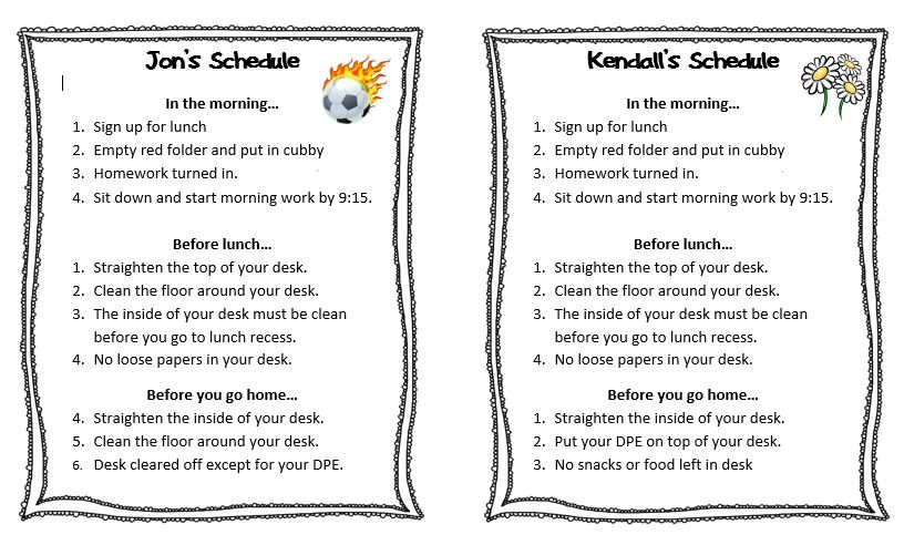 Behavior Contracts And Checklists That Work | Scholastic
