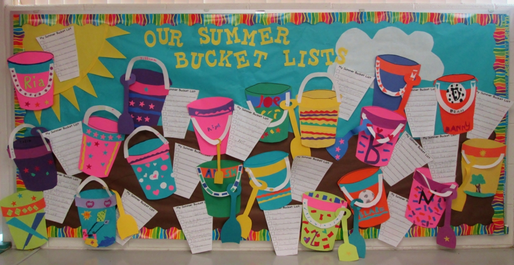 Summer Bucket Lists for Students
